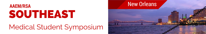 Southeast Medical Student Symposium | AAEM Resident and Student